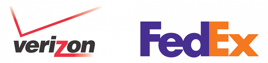 fedex-verizon-logos