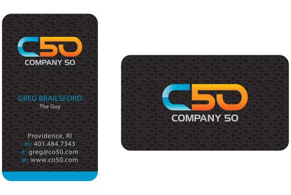 Company 50 Business Card Design