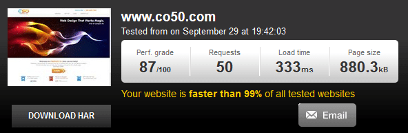 Web Design Speed