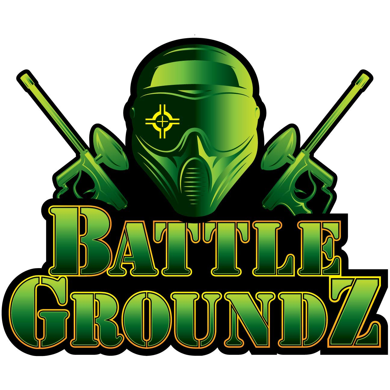 Laser Tag and Paintball Logo Design