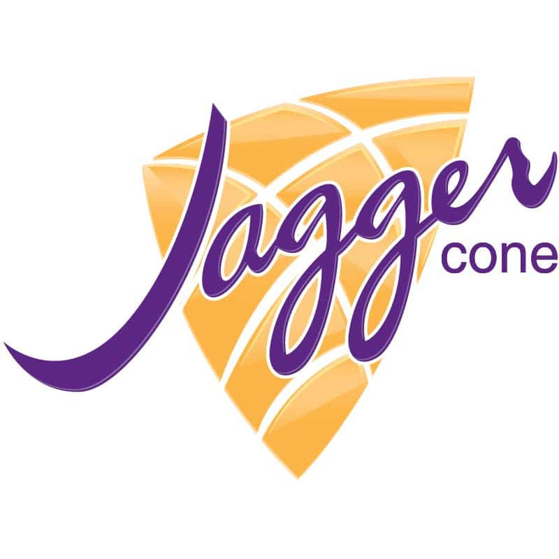 Jagger Ice Cream Cone Logo Design