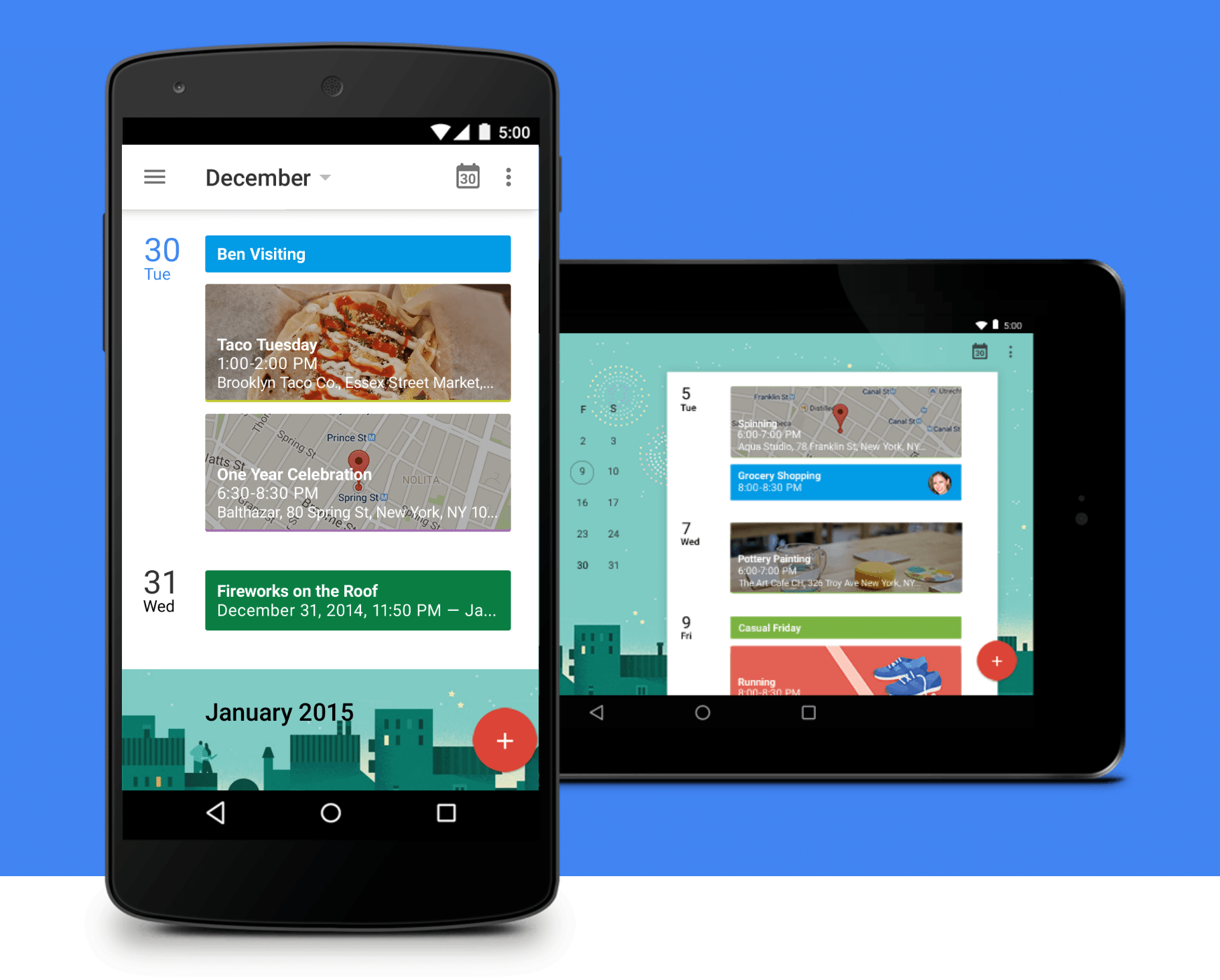 New Google Calendar Android Enhancements Local Business