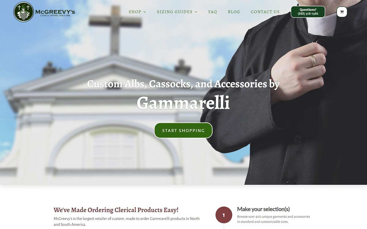 McGreevy's Website Builder